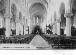 ROSENDAEL - Intérieur De L'Eglise - Other Municipalities