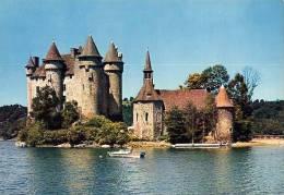 Francia - Cartolina CHATEAU DE VAL, PAYSAGE DE LA VALLEE DE LA DORDOGNE - PERFETTO E59b - France