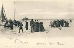 Scheveningen -  Vertrek Naar Fishing - Geanimeerd -1903 - Scheveningen