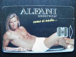 Chip Phone Card From Mexico, Ladatel Telmex, Promotion Alfani Underwear - Mexico