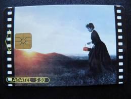 Chip Phone Card From Mexico, Ladatel Telmex, Cinema Film - Mexico