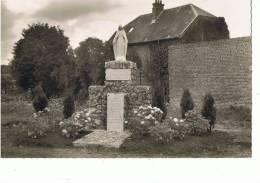MOY-de-L'AISNE -- Mémorial Du Centenaire De Lourdes  --cpsm - Frankreich