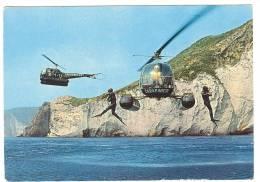 G343 Cooperazione Tra Elicotteri E Carabinieri Subacquei / Non Viaggiata - Manovre