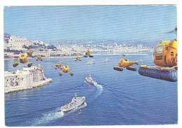G347 Guardia Di Finanza - Formazione Aeronavale - Elicotteri - Navi Ships Bateaux / Non Viaggiata - Manovre