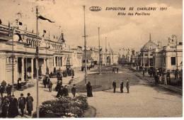 Carte Postale De Charleroi . . Exposition De 1911 . En Tres Bon état . Voir Les Deux Photos . - Charleroi