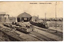 Carte Postale De Charleroi . .Intérieure De La Gare   En Tres Bon état . Voir Scan - Charleroi
