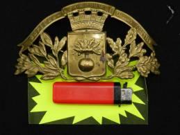 BELLE PLAQUE ADRIAN SAPEURS POMPIERS : VILLE De THOURY FEROTTES - Firemen