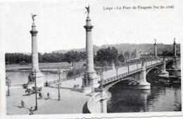 AK Liege, Le Pont De Fragnee, Ungel. Um 1915 - Belgien