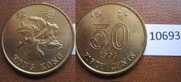 Hong Kong 50 Centimos 1993 - Monedas