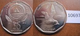 Cabo Verde 1994 20 Escudos Pajaro , Alcatraz - Autres – Afrique