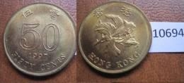 Hong Kong 50 Centimos 1997 - Coins