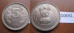 India 5 Rupias 1994 B - Otros – Asia