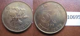 Hong Kong 50 Centimos 1998 - Monedas