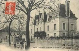 Deux Sevres -ref A160- Mauzé- Chateau Jousselin Cardineaud   -carte Bon Etat   - - Mauze Sur Le Mignon