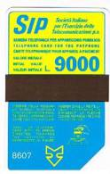 TELECOM ITALIA (PERIODO SIP) - CAT. C.& C.1049 - SIDA 3 - 1986 (8607) LIRE 9000     -  USATA (USED) - Italia