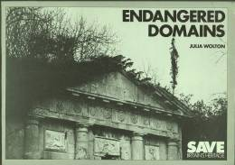 """""""Endangered Domains""""  By  Julia Wolton.   60 Scandalous Situations Where Houses Are Being Left To Rot! - Books, Magazines, Comics"""