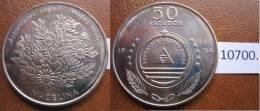 Cabo Verde 1994 50 Escudos Flores, Macelina - Monedas