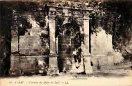 Auray               Fontaine Des Quais Du Loch   . - Auray