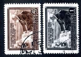 (9660) RUSSIA 1949 Mi.#1381-82  Used  Sc#1390-91 - 1923-1991 URSS