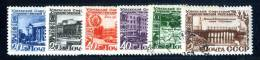(9664) RUSSIA 1949 Mi.#1432-37  Used  Sc#1429-34 - Used Stamps
