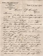 """Entête  14/10/1906 Recto Verso -  GÖRLITZ  ( Allemagne )  -  Hermann   GRAHN  -  Hôtel  """" VIER  JAHRESZEITEN  """""""" - Deutschland"""