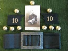 Lot D´objets Militaires Ayant Appartenu à Un Artilleur De 14-18 - 1914-18