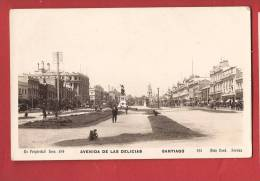 Q0915 Santiago Avenida De Las Delicias  Cood Serena 165,ANIME. Non Circulé. - Chile