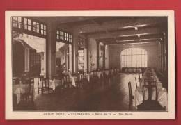 Q0922 Valparaiso Astur Hotel, Salon De Té,Tea Room.Non Circulé. - Chile