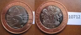 Nigeria 2 Naira 2006 , Bimetalica - Monedas
