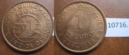 Guinea Portuguesa 1 Escudo 1946 , 5º Centenario Da Descoberta - Monedas