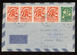 ÖSTERREICH  Mi. Nr. 951 Mischfrankatur - Brief - 1945-.... 2. Republik