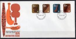 FDC Maori Artefacts 1976 (NZ 50) - FDC