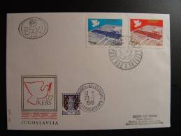 JUGOSLAVIJA YOUGOSLAVIE JUGOSLAWIEN CONSEIL DE L´EUROPE EUROPA PARLAMENT  FDC - Yugoslavia