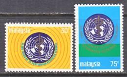 Malaysia  101-2  *  WHO - Malaysia (1964-...)