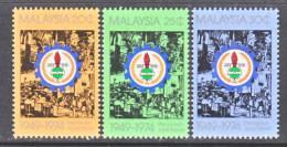 Malaysia  128-30   *   TRADE  UNION - Malaysia (1964-...)