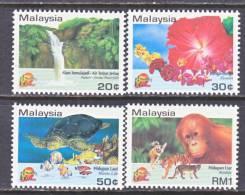 Malaysia  495-8  **  MARINE LIFE  FLORA  FAUNA - Malaysia (1964-...)