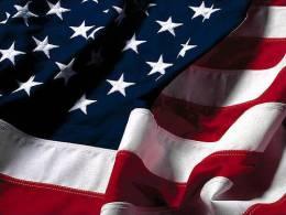 Drapeau Américain 100% Nylon-150X0.90 Cm (neuf) - Flags