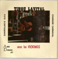 "45 Tours EP - TINOU LAVITAL & LES VICKINGS - ADEB 1 -  "" CHARADE CARNAVAL "" 1 - Dischi In Vinile"