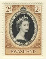 1953 QUEEN ELIZABETH CORONATION  SWAZILAND - Swaziland (...-1967)