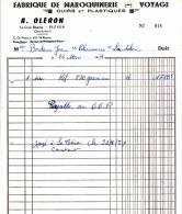 PLEVEN 22  LA CROIX BLANCHE  ( A OLERON MAROQUINERIE ) - Non Classés