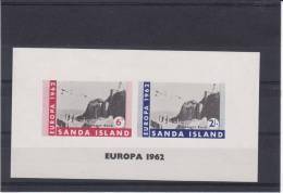 Europa CEPT - Année 1962 - Sanda Island - Bloc NON Dentelé  ** - MNH - Europa-CEPT