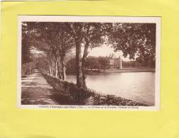 CPA - 18 -  AUBIGNY Sur NERE - Le Chateau  De La Verrerie, L'avenue Et L'étang - Autres Communes