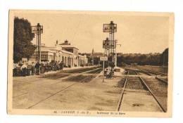 Lannion Intérieur De La Gare - Lannion