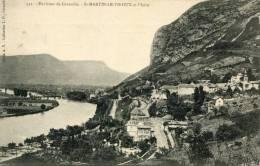 CPA 38 ENVIRONS DE GRENOBLE ST MARTIN LE VINOUX ET L ISERE - Saint-Laurent-du-Pont