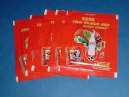 5 Bustine World Cup Africa South 2010 Con Figurine Sticker Panini Lott 7 - Italienische Ausgabe