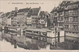 STRASBOURG: QUAI DES BATELIERS - Strasbourg