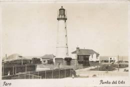 Real Photo Faro Punta Del Este   Lighthouse - Uruguay