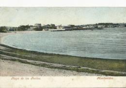 Montevideo  Playa De Los Pocitos  Edit R. Rosauer No 19 - Uruguay