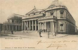 Montevideo Teatro Solis  C. Galli 1902 - Uruguay