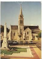 AIGREFEUILLE. - Place De La République Et Eglise St-Etienne.  CPM - France